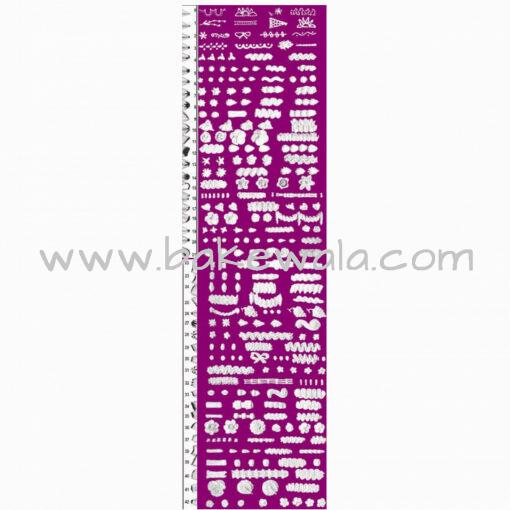 Noor Icing Nozzle  - Ribbon - Wide - Design - 29