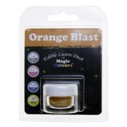 Magic Colours - Edible Lustre Dust - Orange Blast - 8 ml