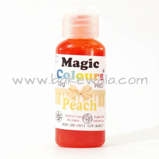 Icing or gel Color - Magic Colours Pro Gel  - Peach - 32g
