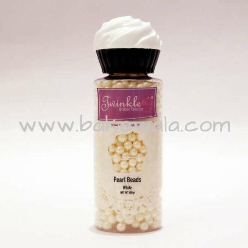 Pearl Beads - White