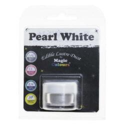 Magic Colours - Edible Lustre Dust - Pearl White - 8 ml