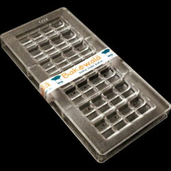 Polycarbonate Chocolate Mould - Design SD2407 - Cobbled