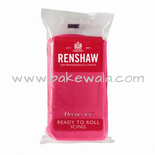 Renshaw Ready to Roll Fondant Icing - Fuchsia Pink - 250 gms