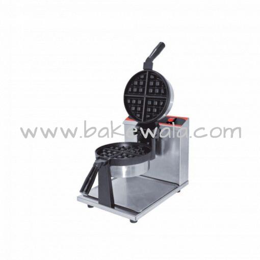 Rotary Waffle Maker - 8 inch - Circular - 1 Waffle  - RWM8
