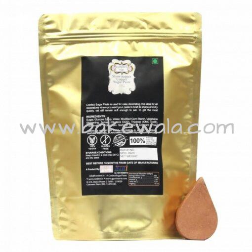 Confect - Showstopper Copper Metallic Sugar Paste - 900gms