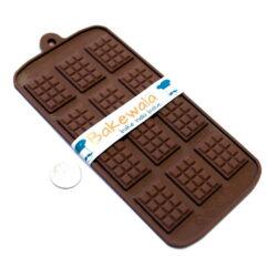 Silicon Chocolate Garnish Mould - Chocolate Bar
