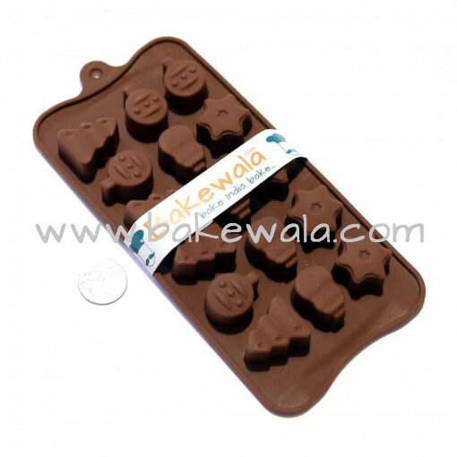 Silicon Chocolate Mould - Fun Shapes