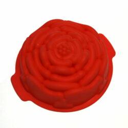 Silicone Cake Mould - Rose Shape - 7 inch;