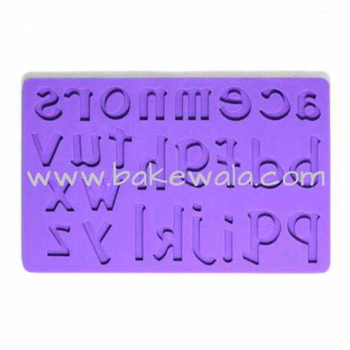 Silicone Fondant Mould - Alphabet