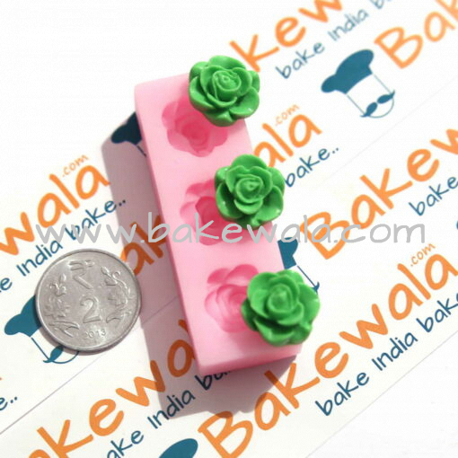 Silicone Mould - 3 Roses