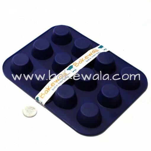 Mini Cupcake Mould Tray - 12 cups