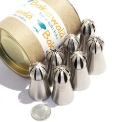 Balloon Tip Russian Nozzles - 7 pieces
