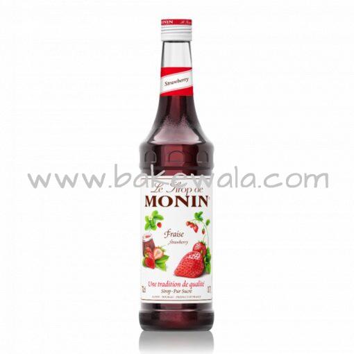 Monin - Strawberry - Flavoured Syrup - 1L
