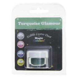 Magic Colours - Edible Lustre Dust - Turquoise - 8 ml