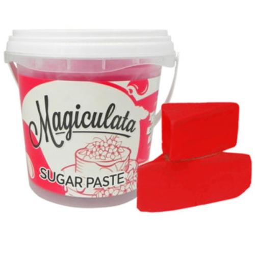 Magiculata - Fondant or Sugar Paste - Valentino Red - 1 kg