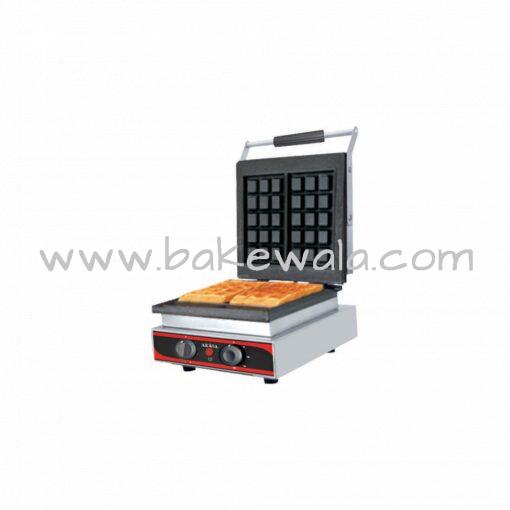 Waffle Maker - 7 inch X 4 inch - Rectangular - 2 Waffles - WM11