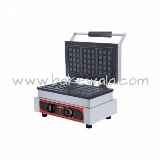 Waffle Maker - 5 inch X 3 inch - Rectangular - 3 Waffles - WM3