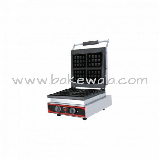 Waffle Maker - 4 inch - Square - 4 Waffles - WM4