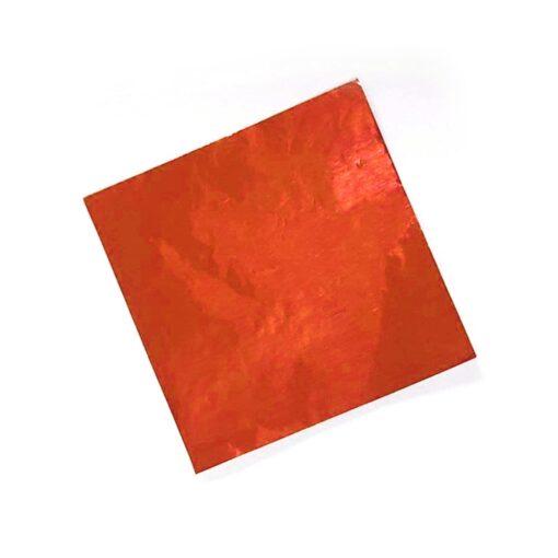 Chocolate Foil Wrapper - Orange - 300pcs